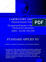 Chemical Hygiene Program example power point training