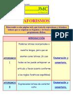 Aforismos Latinos (Ordenados y Explicados)