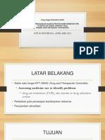 Evaluasi Penggunaan Injeksi Proton Pump Inhibitor (Ppi)