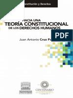 Hacia Una Teoría Constitucional de los Derechos Humanos