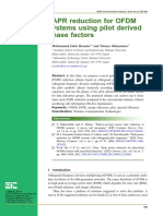 PAPR reduction for OFDM systems using pilot derived phase factors