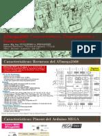 ATmega2560 Características Programación y Simulación