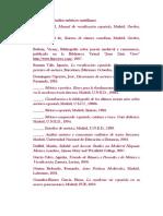 Bibliografía Sobre Estudios Métricos Castellanos
