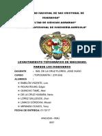 Informe Nº 003 Topo
