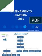Entrenamiento Cartera 2016
