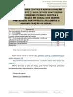 [Ok]Aula 10 - Crimes Contra a Adm.pública, Crimes Praticados Por Func.público e Por Particular