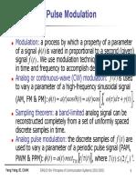 Pulse Modulation