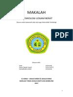 makalah toksikologi