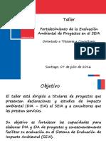 Taller SEIA Consultores
