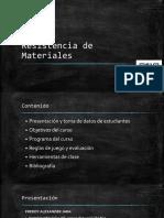 Introducción a La Resistencia de Materiales