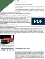 History of the 1964-74 Pontiac GTO