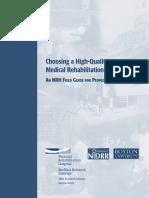 quality rehab medicine