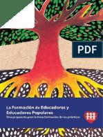 La Formación de Educadoras y Educadores Populares_Una Propuesta Para La Transformación