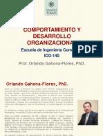 Comportamiento & Desarrollo Organizacional