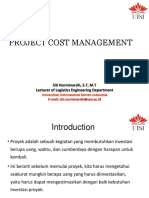 #6 Project Cost Management