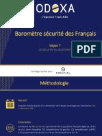 Barometre Securite Odoxa Fiducial-Decembre 2017