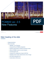 PCM600 2.5 New Features