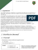 Distribucion Binomial Ejemplos