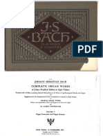 Bach - Organ works - Volume 5