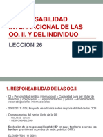 Dip - Responsabilidad Internacional Ooii e Individuos