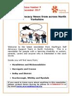 KeyRing Newsletter 9 December 2017