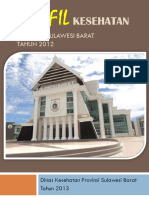 PROFIL KESEHATAN PROVINSI SULAWESI BARAT TAHUN 2012.docx