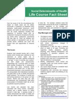 Life Course Fact Sheet