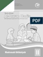Al-quran-hadis Mi 2 Siswa
