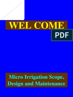 Lec 11 Micro Irrigation Design Maintenance