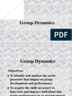 Droup Dynamics