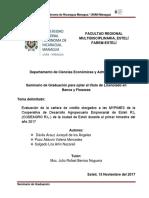 Seminario de Graduación Codeagro R.l.