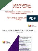 Riesgos Laborales, Prevención y Control