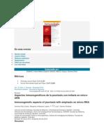 Inmunología Psoriasis MiARN