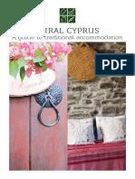 Rural Cyprus Agrotourism 2016 En