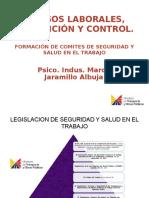 RIESGOS LABORALES, PREVENCIÓN Y CONTROL.ppt