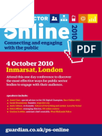 PS Online 2010 Programme for PDF