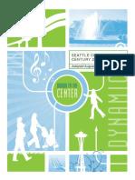 Seattle Center Century 21 Master Plan ©Seattle Center