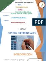 Costos Diferenciales (Grupo 2)