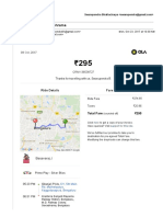 Ola Booking