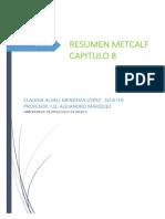 Resumen Metcalf Capitulo 8