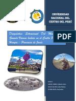 Diagnóstico Situacional Del Manejo Del Ganado Vacuno Lechero en El Centro Poblado de Huayre Provincia de Junín