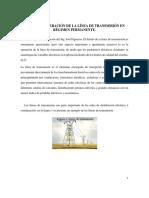 Análisis y Operación de Lineas de Transmisión en Régimen Permanente.