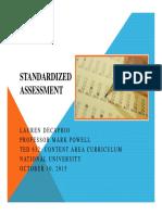 lauren decaprio standardized assessment ted632