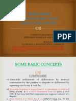 Compromise, Arrangement and Amalgamations