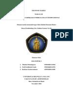 Makalah Kebijakan Perdagangan Internasional EKONOMI MAKRO