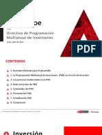 3. Directiva de Pmi