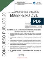 Prova Analista Obras Urbanismo Engenheiro Civil