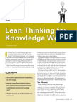Lean Thinking for Knowledge Work.pdf