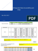 Analysis Utah 1122 Degraded VoLTE Retainability Post Swap