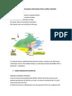 Distrito de Tucume Zonas Afectadas Por El Niño Costero Modificado